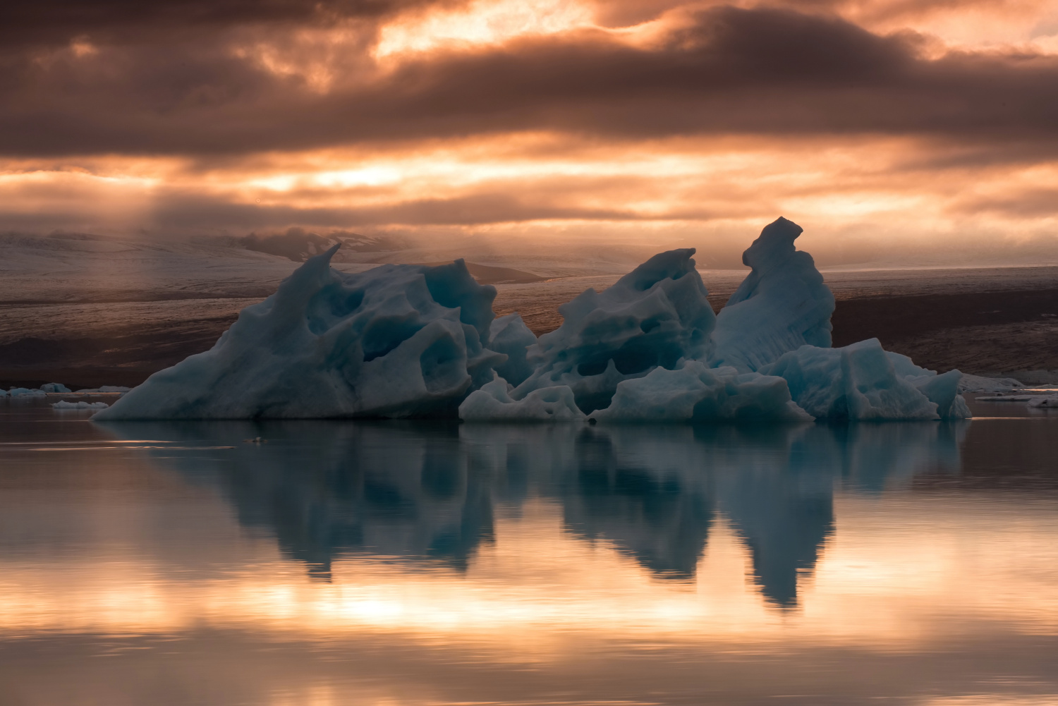 The Jokulsarlón Lake (Iceland)
