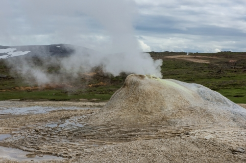 The hot springs of Hveravellir (Iceland)