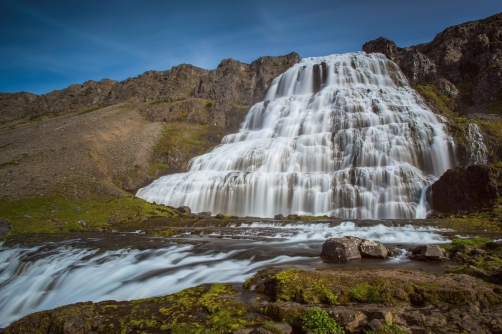 The waterfall Dynjandi (Iceland)