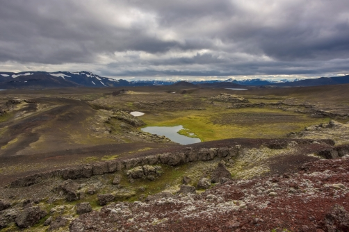 The Veidivotn is lava area (Iceland)