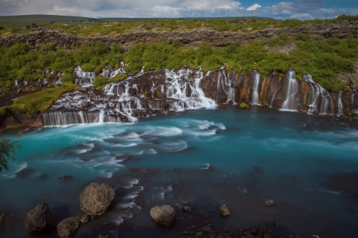 The Hraunfossar (Iceland)