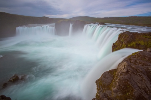 Waterfall Godafoss - Iceland