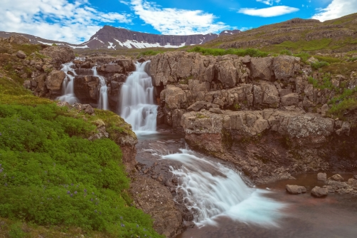 The Noname Waterfall (Iceland)