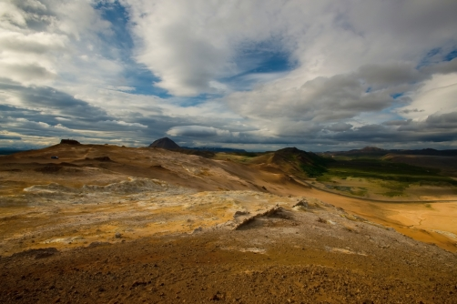 The Namafjall -  fumarole field (Iceland)