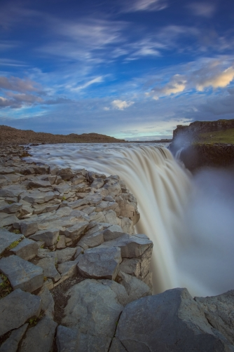 Dettifoss is waterfall in Iceland